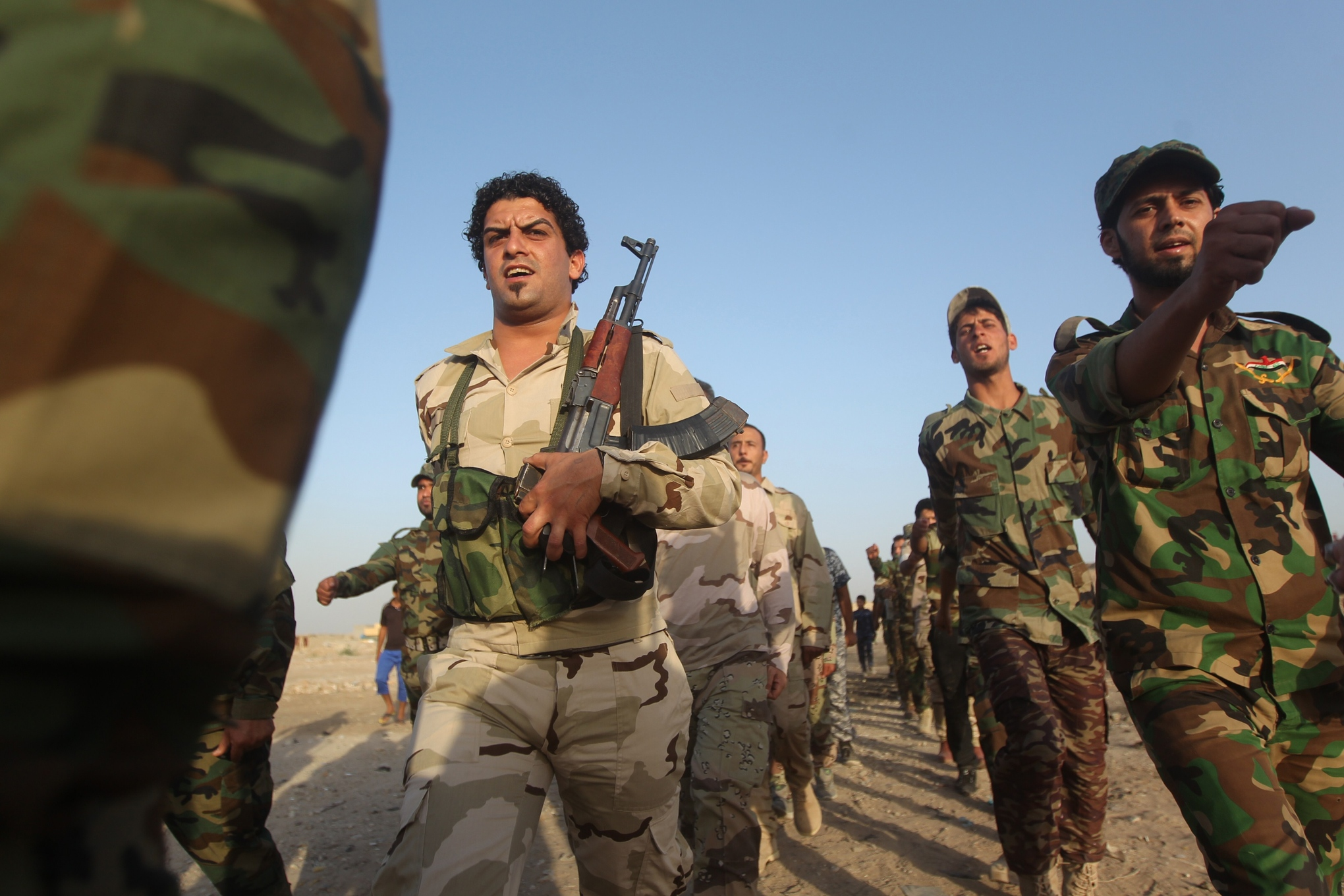 Shia militias Ahmed al-Rubaye/AFP/Getty Images
