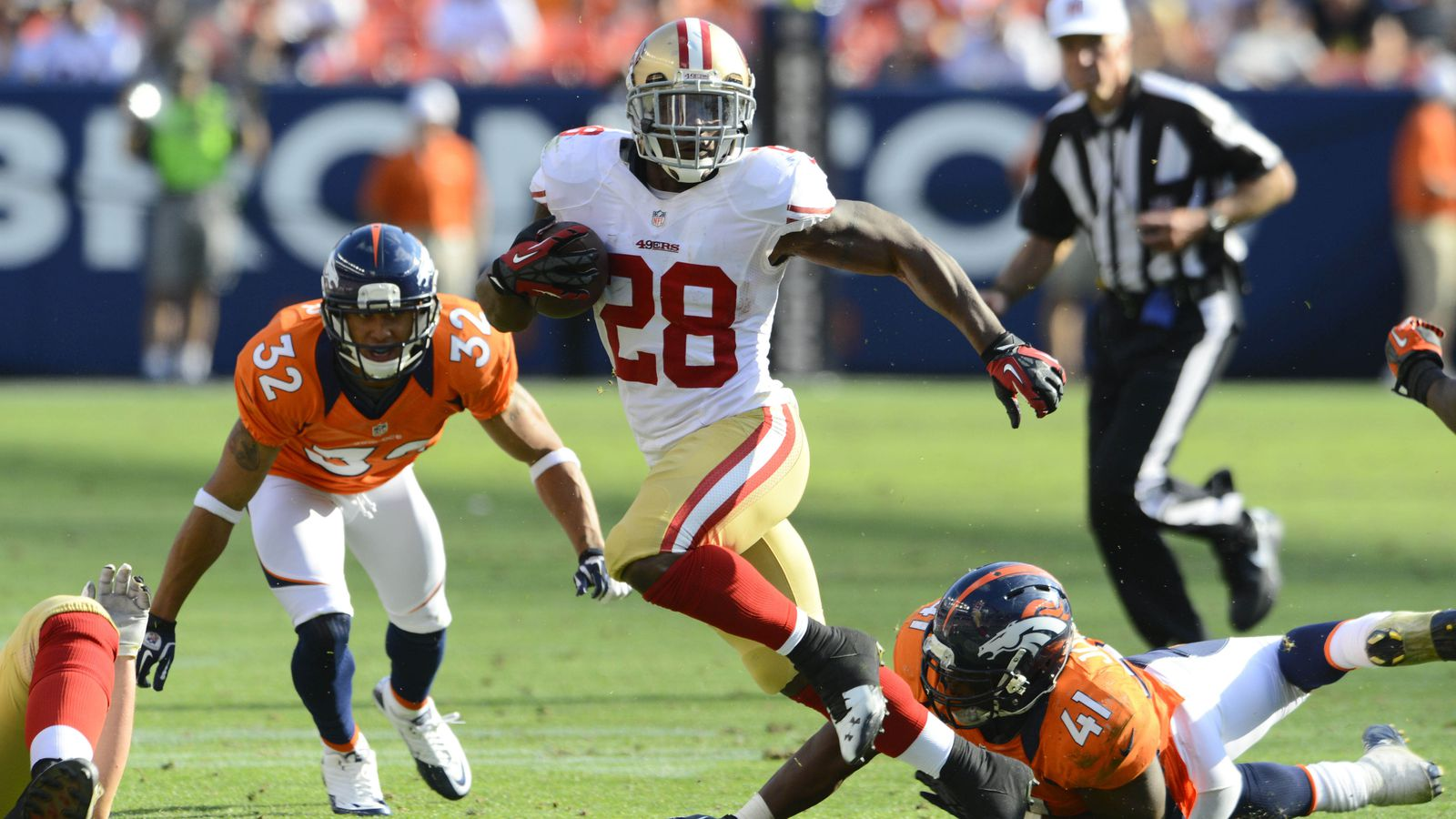 Super Bowl Odds 49ers Broncos Favored After Nfl Draft