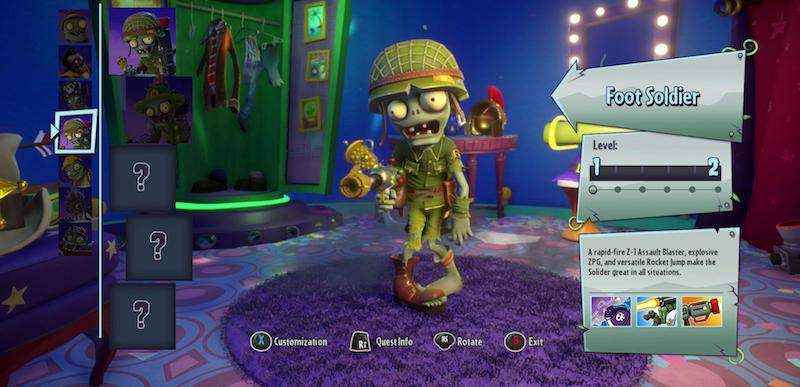 All Plants Vs Zombies Garden Warfare 2 Characters | Unixpaint
