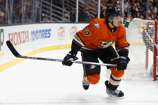 Nejproduktivnější hráč Ducks Corey Perry
