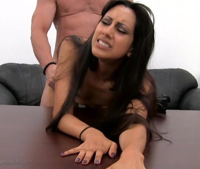 Awesome Looking Latina Brunette Is Having An Awesome Sex In The Video By Backroom Casting Couch