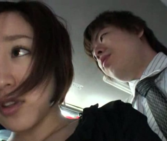 Gorgeous Asian Babes Are Fucked In The Public Transport In Kinky Public Porn