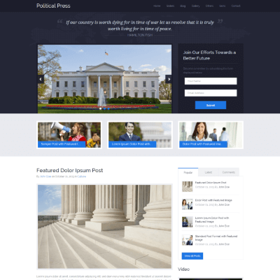 WP_Theme_PoliticalPress_Full