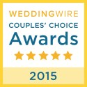 Toni Brides, WeddingWire Couples' Choice Award Winner 2015