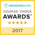 YZ Fashion & Bridal, WeddingWire Couples' Choice Award Winner 2017