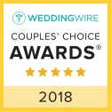 Toni Brides, WeddingWire Couples' Choice Award Winner 2018