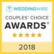 K Schulz Photography, WeddingWire Couples' Choice Award Winner 2018