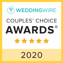 WeddingWire Couples' Choice Award Winner 2020