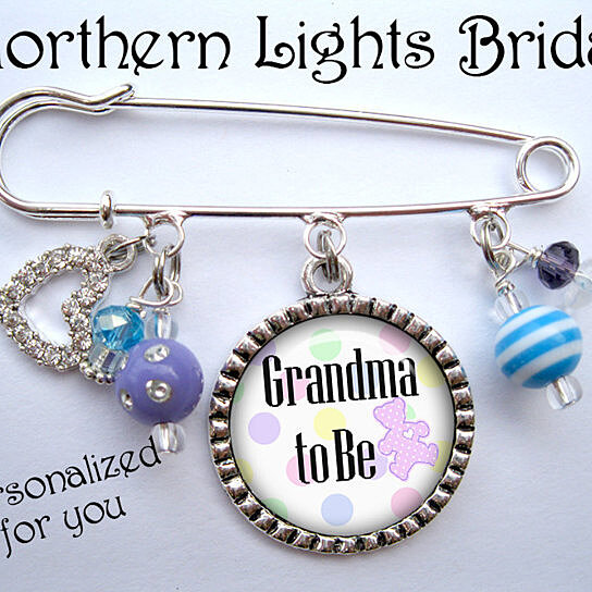 Buy Its A Girl Grandma To Be Pin New Mother Grandmother