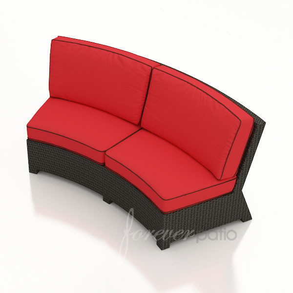 replacement cushions for forever patio barbados curved sofa