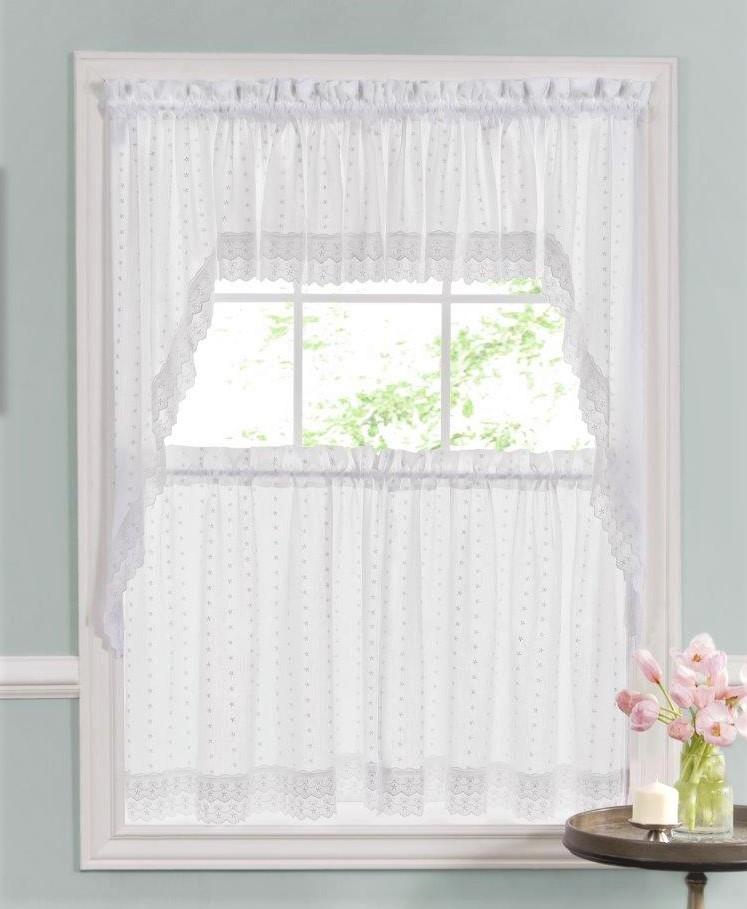 swags valances lace kitchen curtains