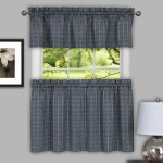Sydney Kitchen Curtain Grey Linens4less Com