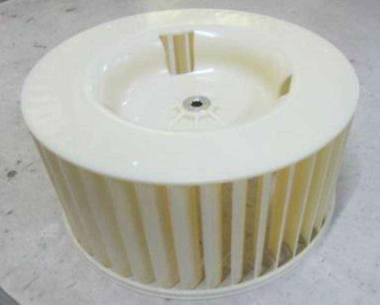v1 blower wheel lower exhaust fan for arc 12s arc 110wd arc 131gd arc 122ds arc 122dhp