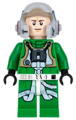 Lego Star Wars A Wing Pilot From 75175