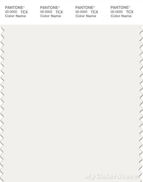 Pantone Smart 11 0602 Tcx Color Swatch Card Pantone Snow White