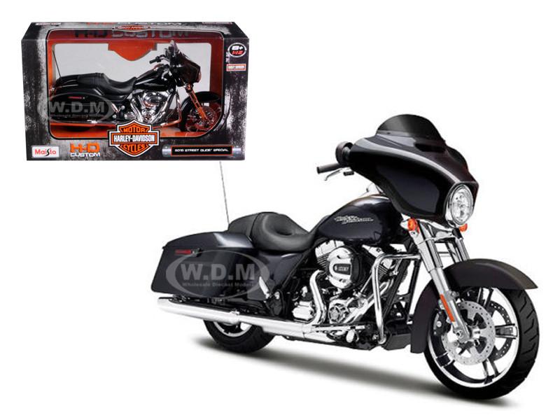 2015 harley davidson street glide special black 1 12 diecast motorcycle model by maisto