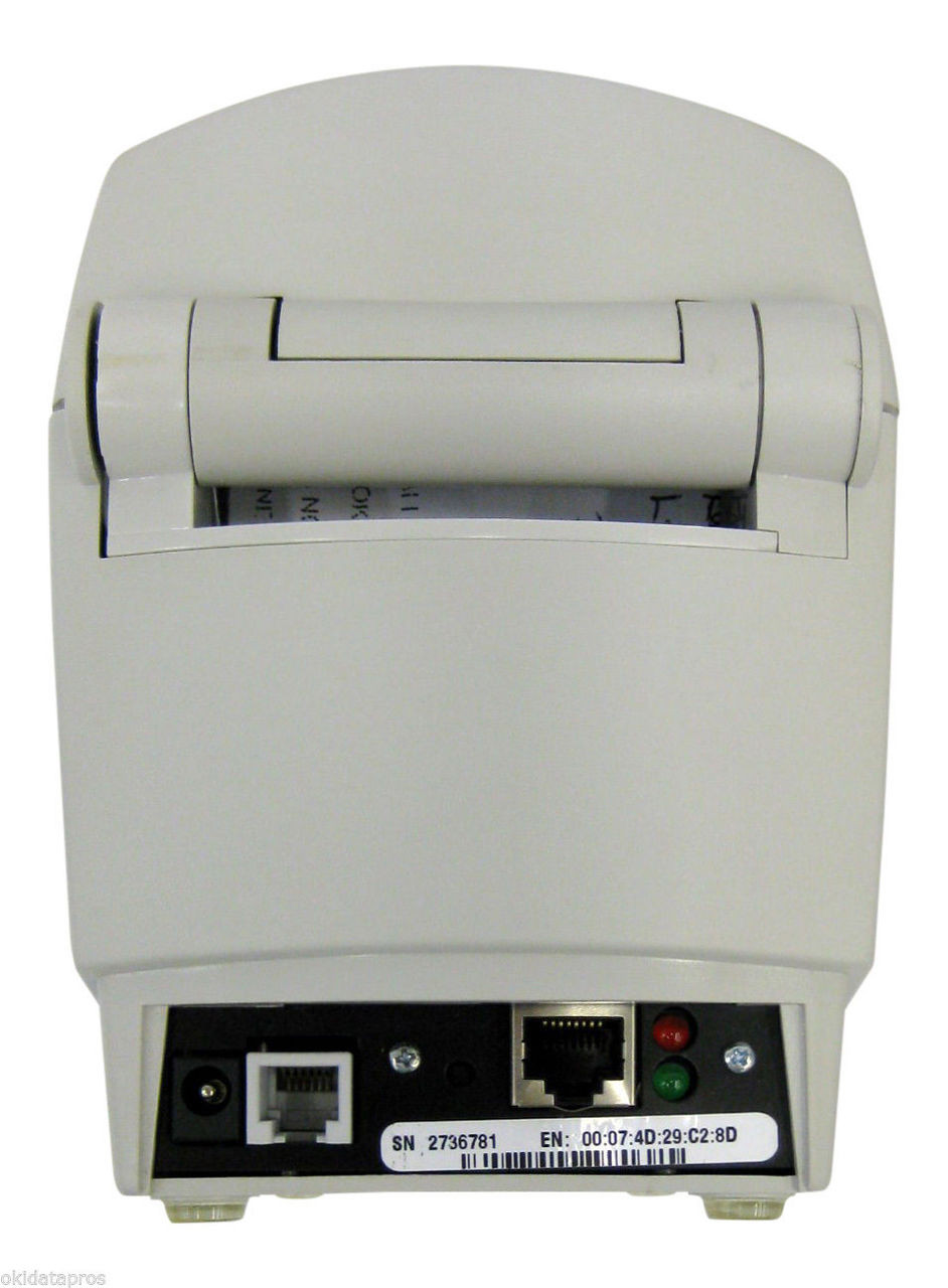 Zebra Lp 2824 Thermal Label Printer With Ethernet Interface