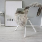 Genuine Rare Breed Scandinavian Pelssau Sheepskin Rug Extremely Soft Silky Wool Silver Grey Ash Brown Mix Ss 225