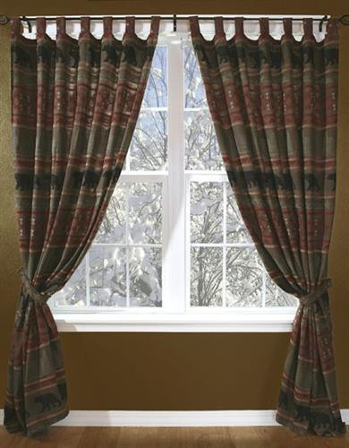 bear country curtains