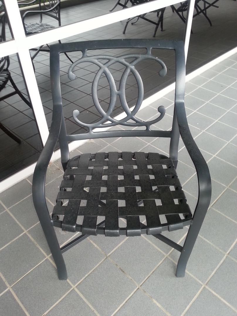 2 used tropitone cast aluminum outdoor patio sets