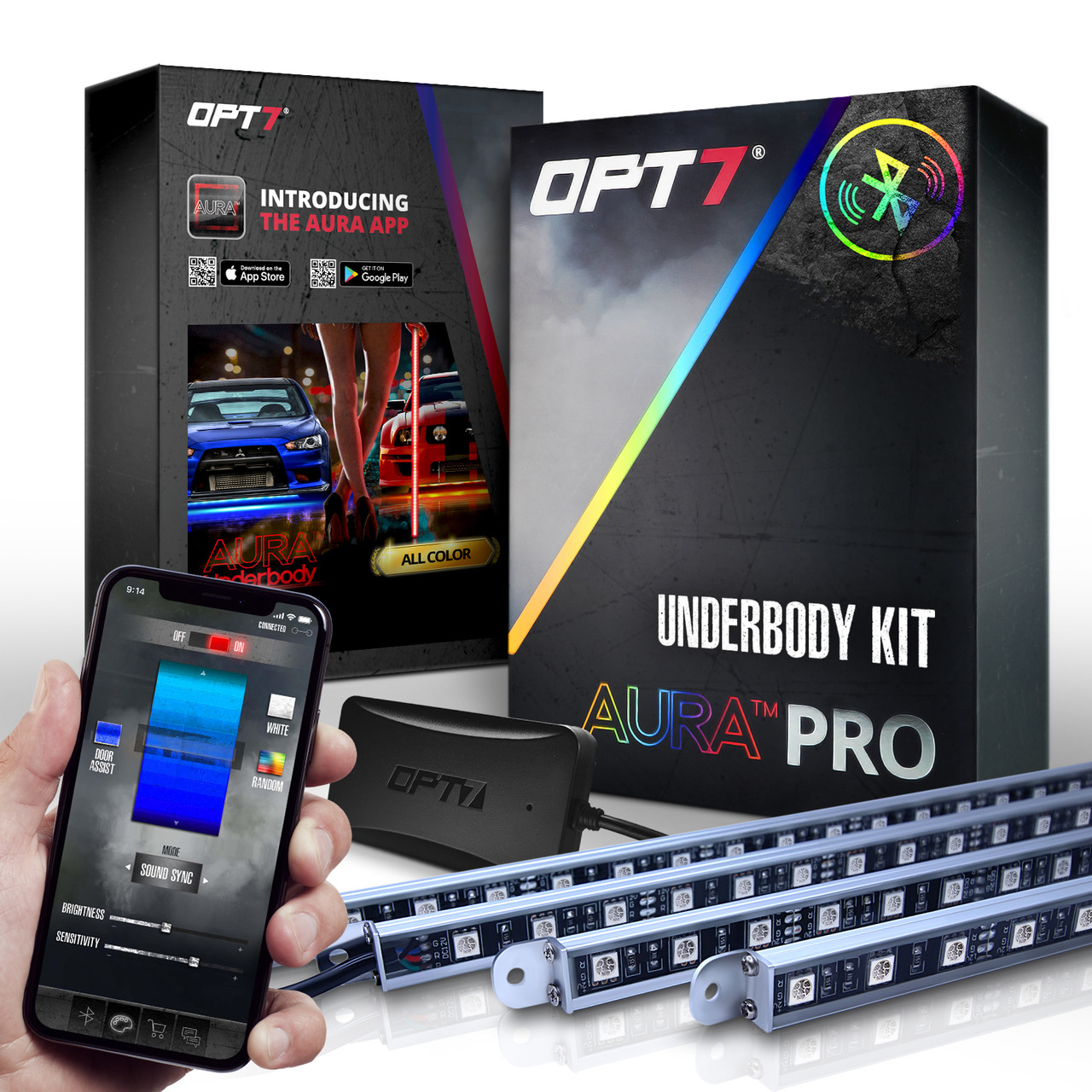Opt7 Aura All Color Led Underglow Lighting Kit