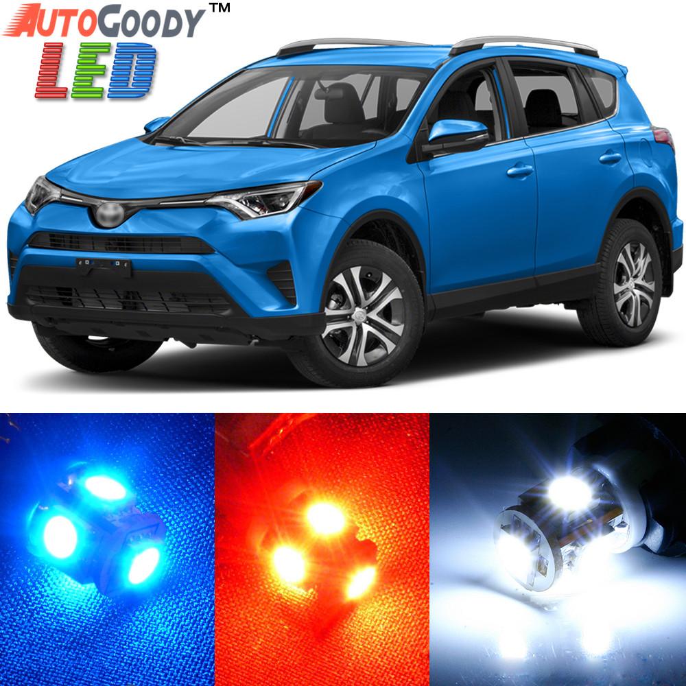 premium interior led lights package upgrade for toyota rav4 2006 2019