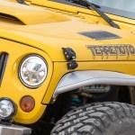 Jk Aluminum Hood Latches Black Genright Jeep Parts