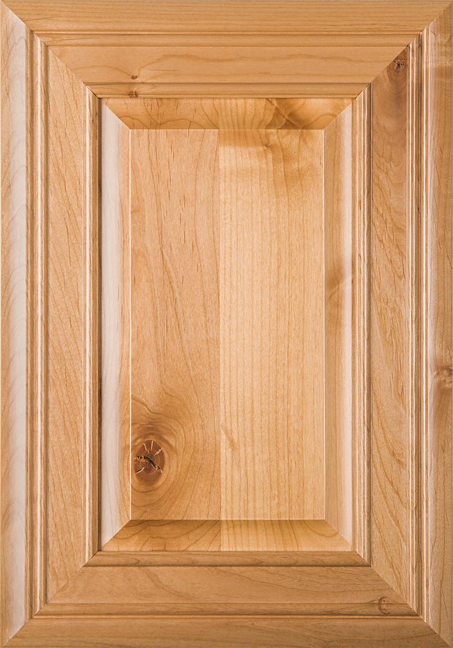 Arden Rustic Alder Raised Panel Cabinet Door Finished