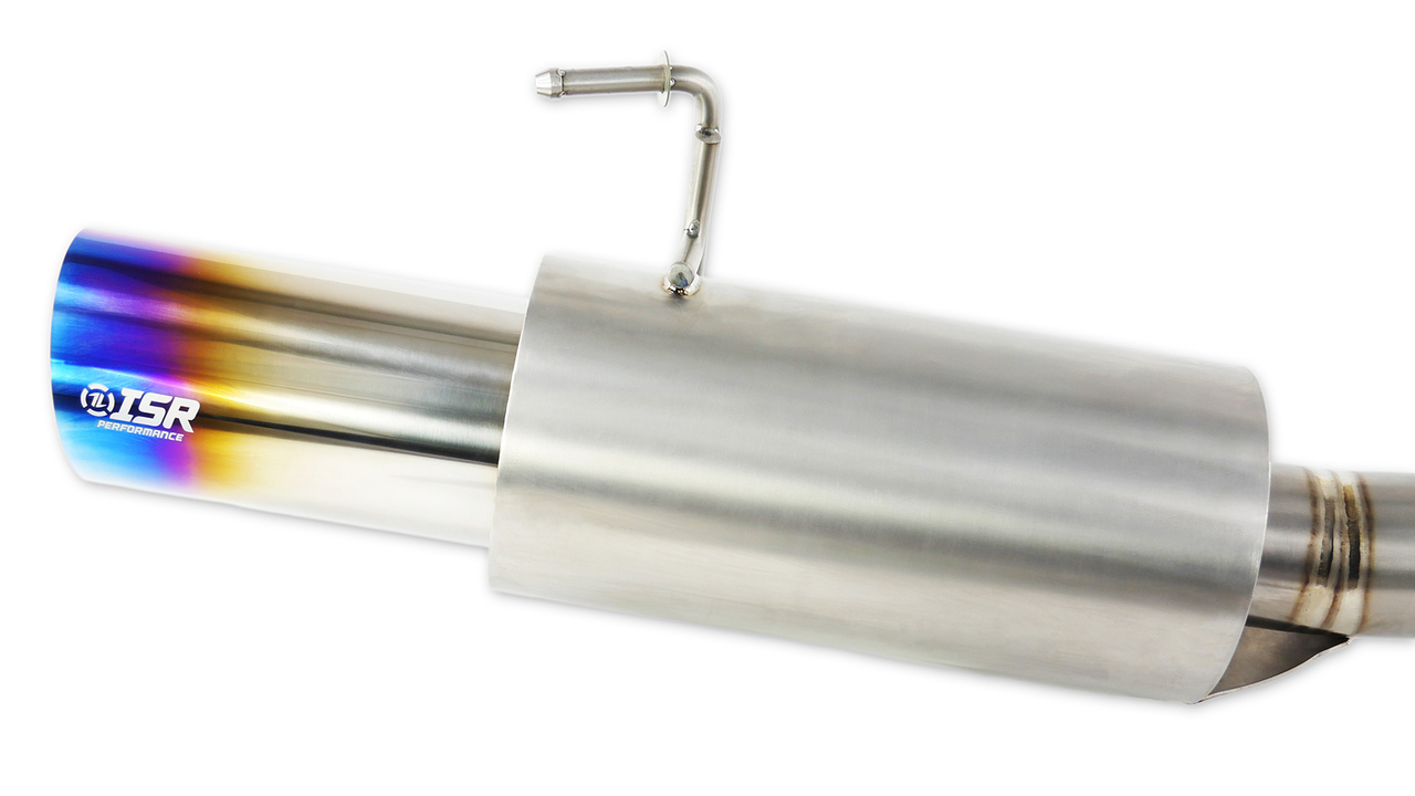 isr performance series ii titanium single gt exhaust nissan 350z