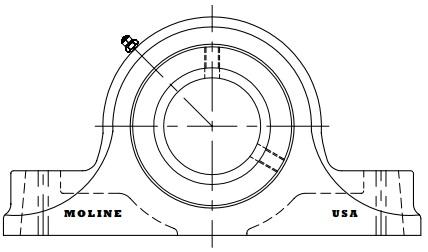 1 1 2 type e heavy duty two bolt