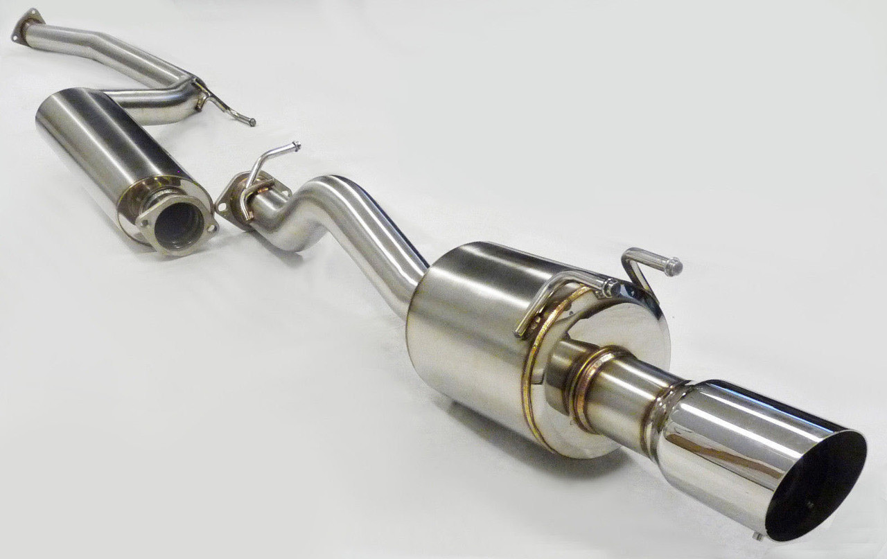 obx catback exhaust fits 2012 2015 honda civic si coupe 2 door 2 4l only