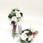 Burgundy White Bridal Bouquet Loveland Wedding Florist Earle S Flowers