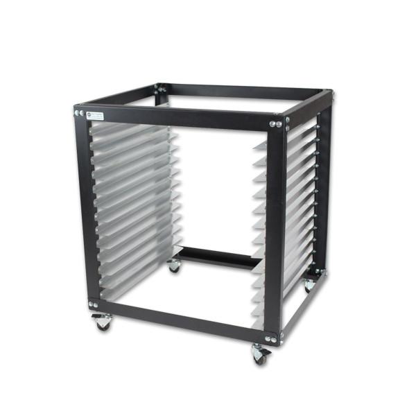 ntl standard screen cart rack