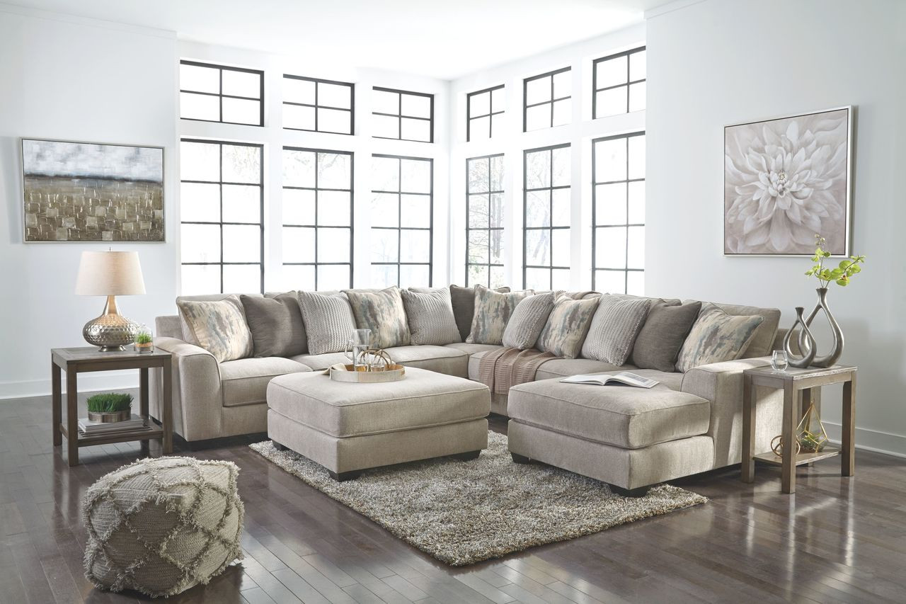 ardsley pewter laf sofa wedge armless loveseat raf corner chaise sectional accent ottoman