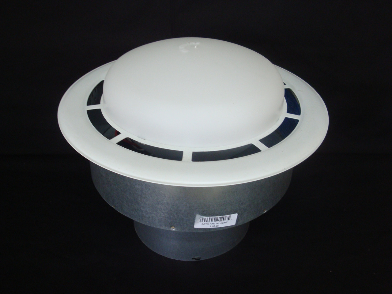 bath vented fan with light