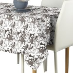 Marble Gray Marble Milliken Signature Tablecloth Fabric Textile Products Inc