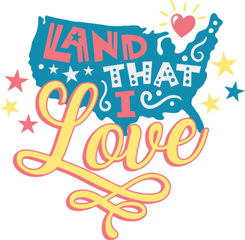Download Free Land That I Love SVG Cut File | Craftables