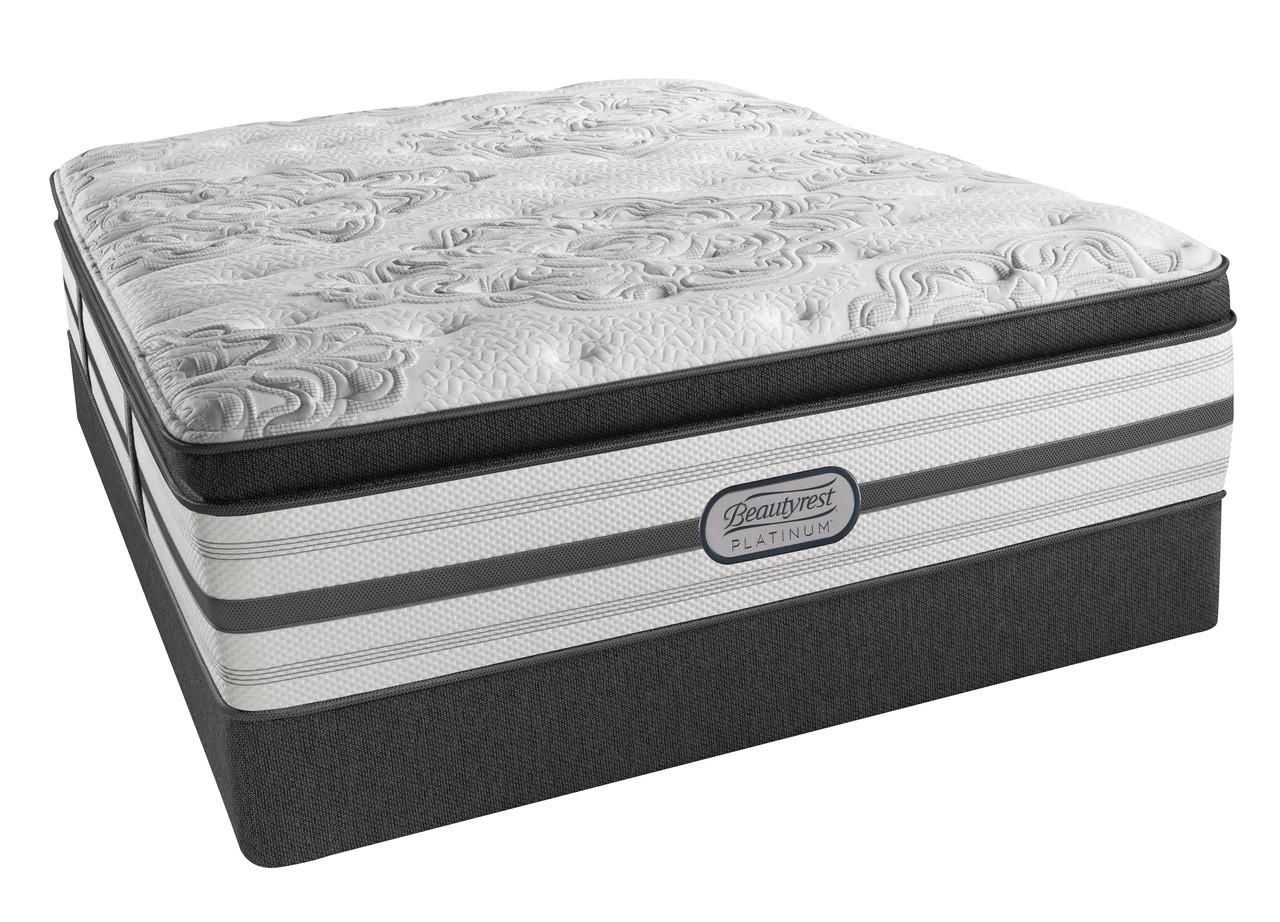 simmons beautyrest platinum katherine plush pillow top mattress