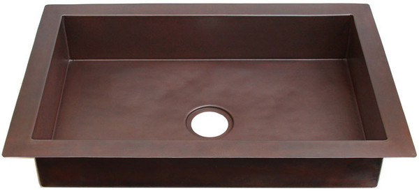kitchen kdi sm shallow shallow copper sinks single bowls 11 sizes