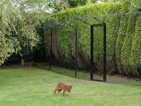 cat garden fence enclosure online