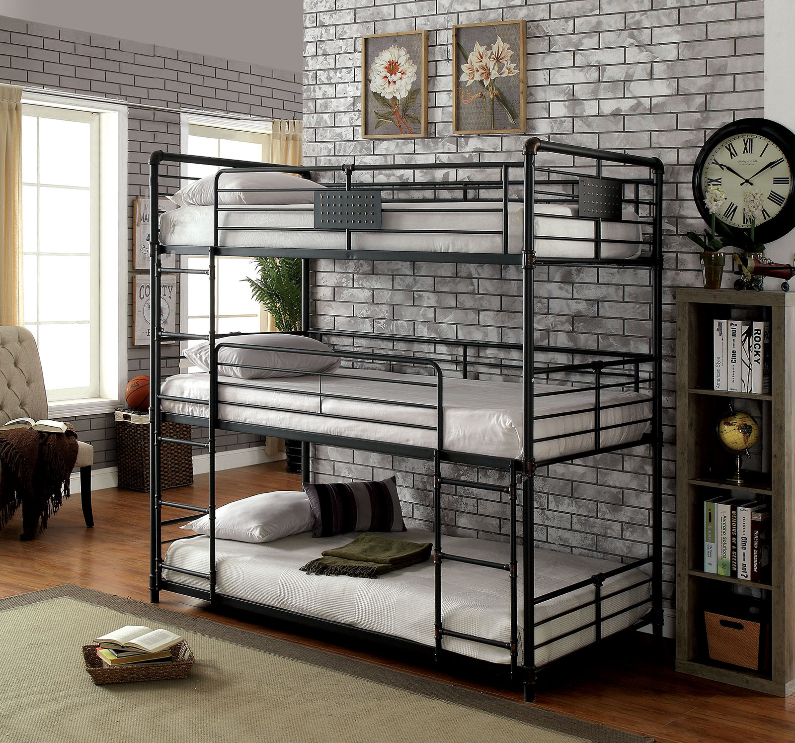 3 Tier Beds The Bed Trend For Space Short Www Justbunkbeds Com