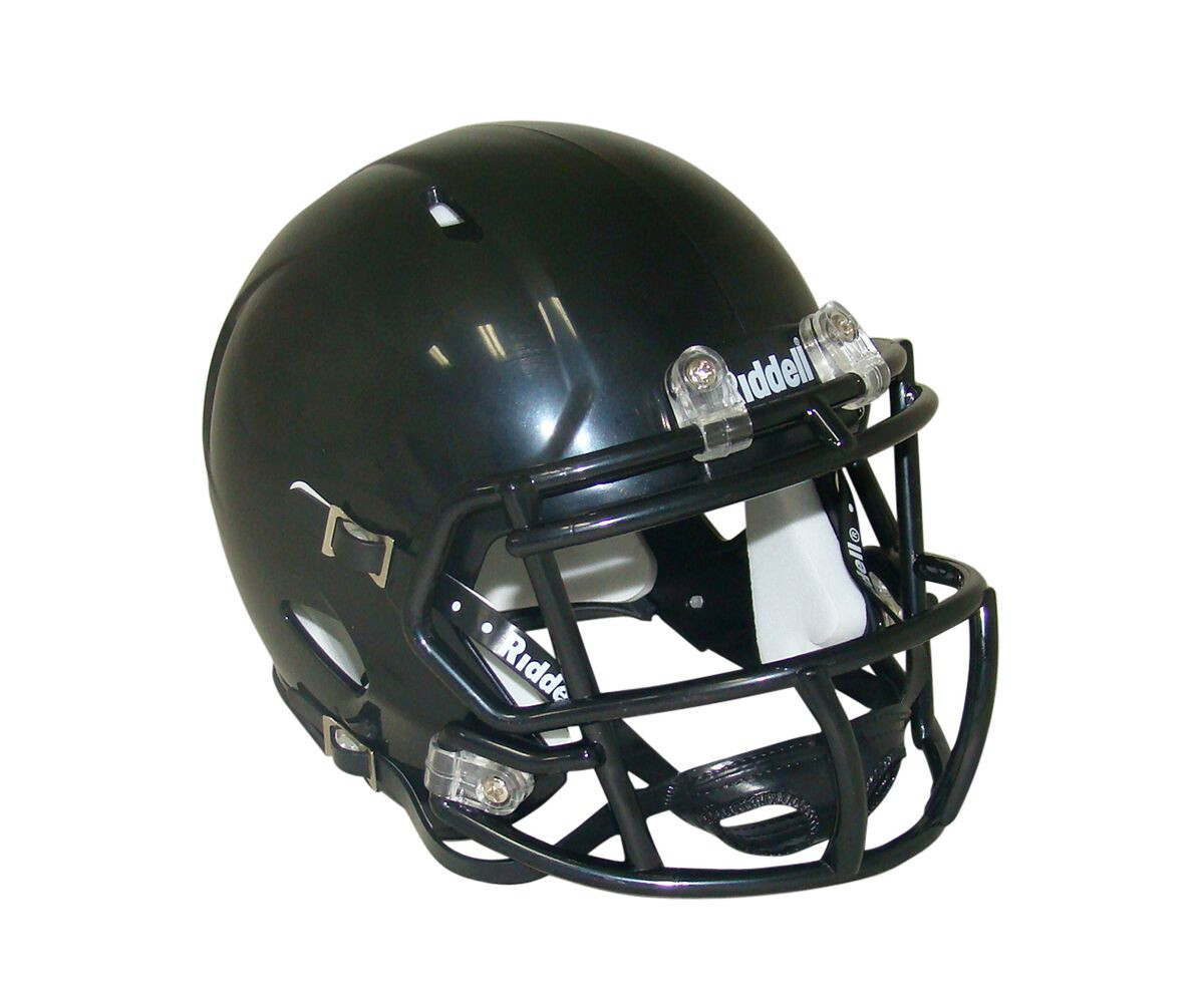 Riddell Blank Black Speed Mini Football Helmet
