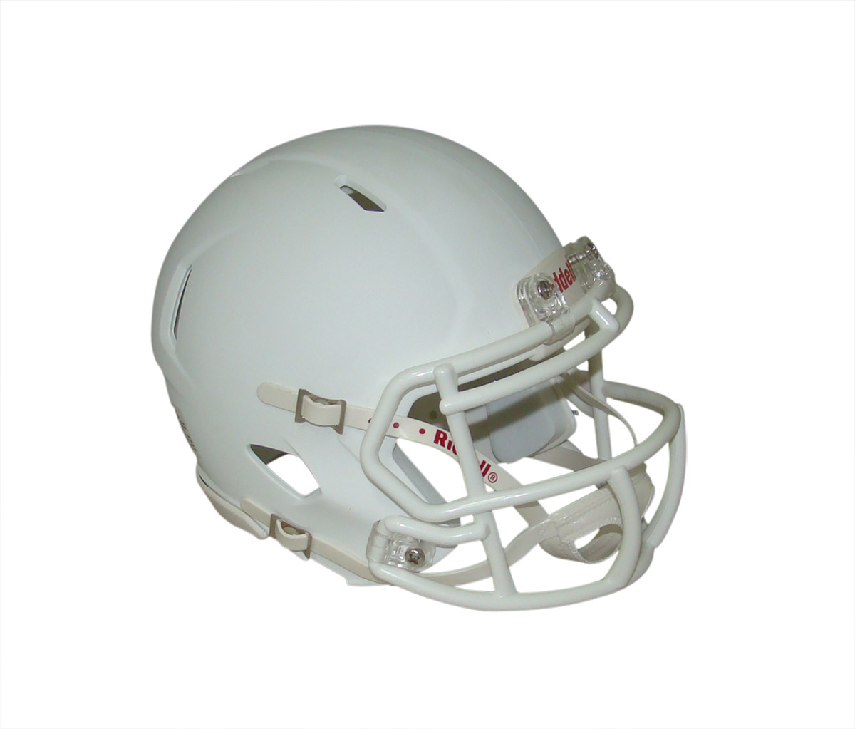 College Ncaa Matte White With Black Mask Blank Riddell Revolution Speed Mini Football Helmet Sports Mem Cards Fan Shop