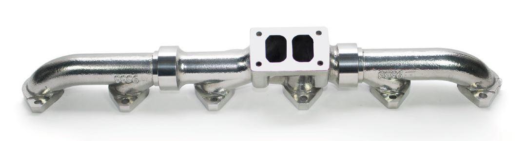 full tilt cat c15 3406 ceramic coated exhaust manifold peterbilt kenworth