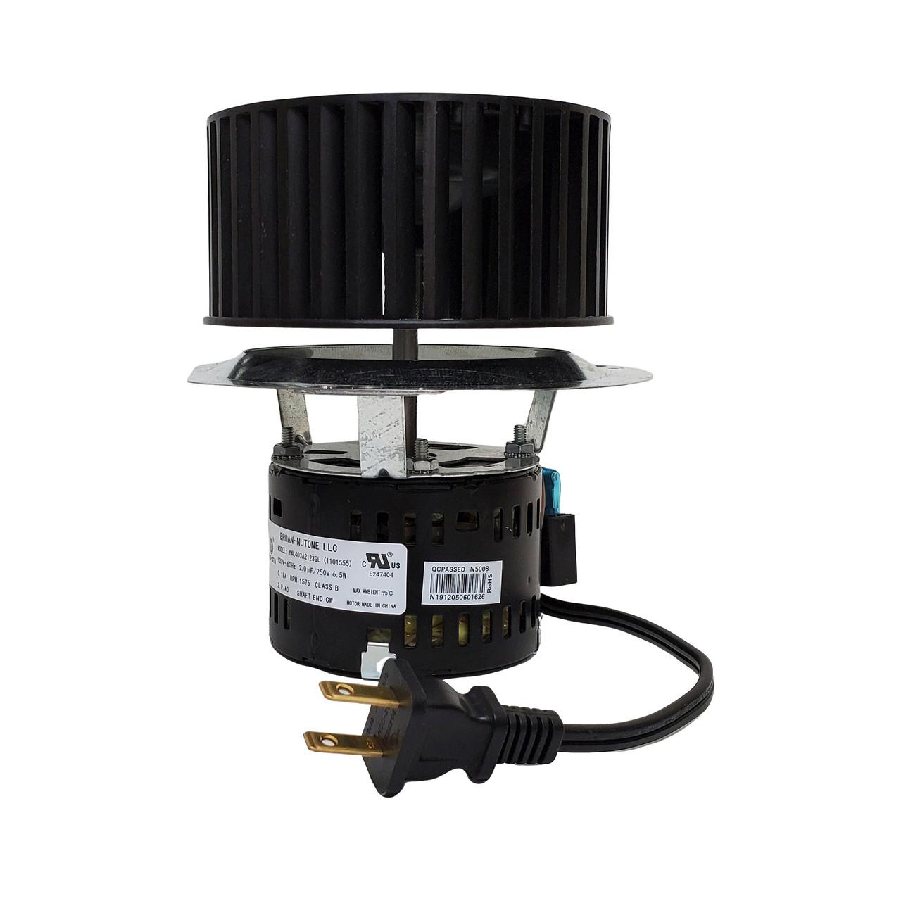 broan nutone s1101122 motor for recessed ventilation fan light units