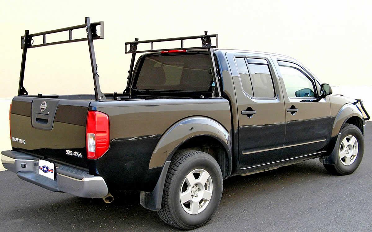 dual rack utility ladder rack for