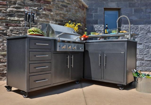 prefab outdoor kitchen galleria