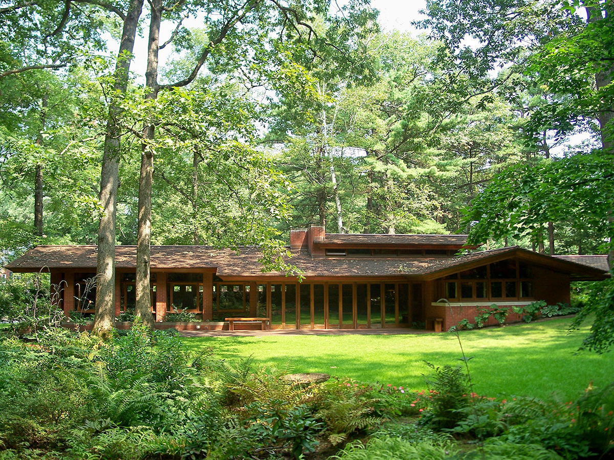 Frank Lloyd Wright S Zimmerman House Giving Special Tour