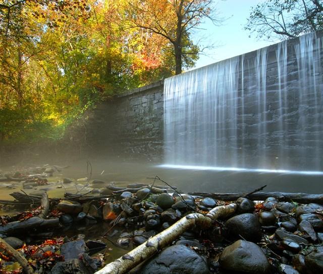 Blackstone Valley Mill Waterfall Photo Via Istock Nikon401