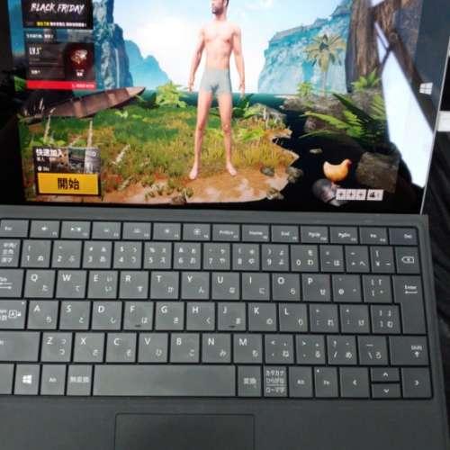微軟 SURFACE3超輕700g 發光4GB Ram 128GB SSD 打機二合一 平板 手提電腦 10.1吋可以取代膝上型電腦的平板電腦 打機 ...